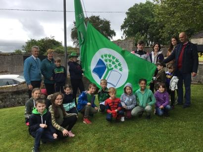 Our wonderful Green School committee.